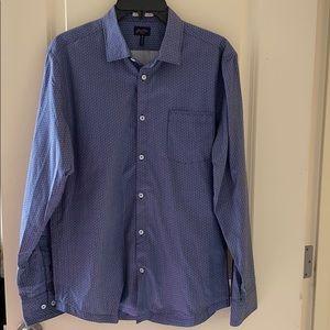 Other - Men's Good Man Brand blue button up shirt